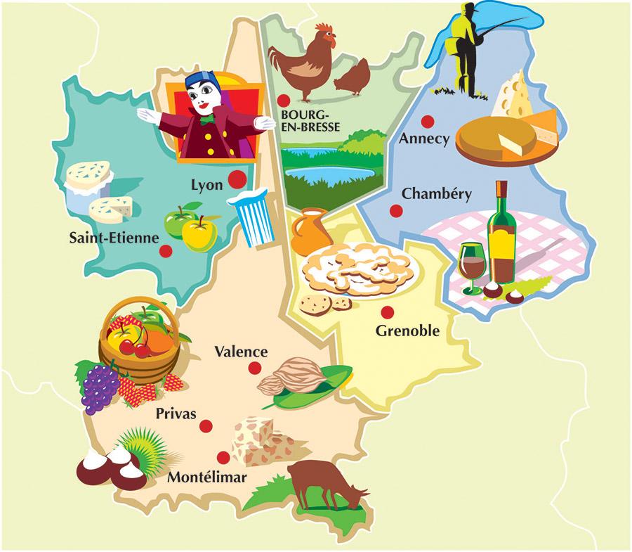 Carte interactive - Franck Perrot Design - DDB - Graphisme - Illustration