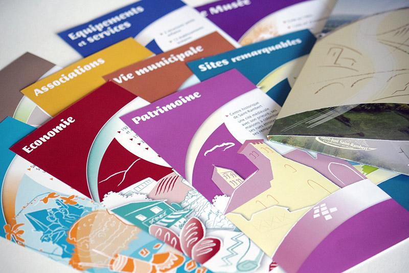 Fiches patrimoine - Franck Perrot Design - Apicom - Graphisme - Illustration