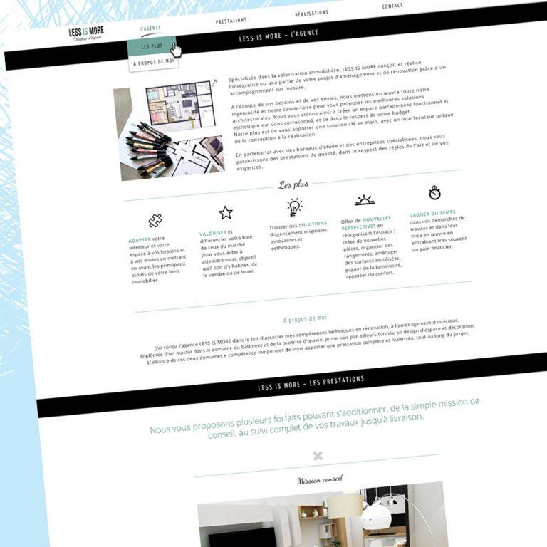 Webdesign site - Franck Perrot Design - Imageurs - Graphisme