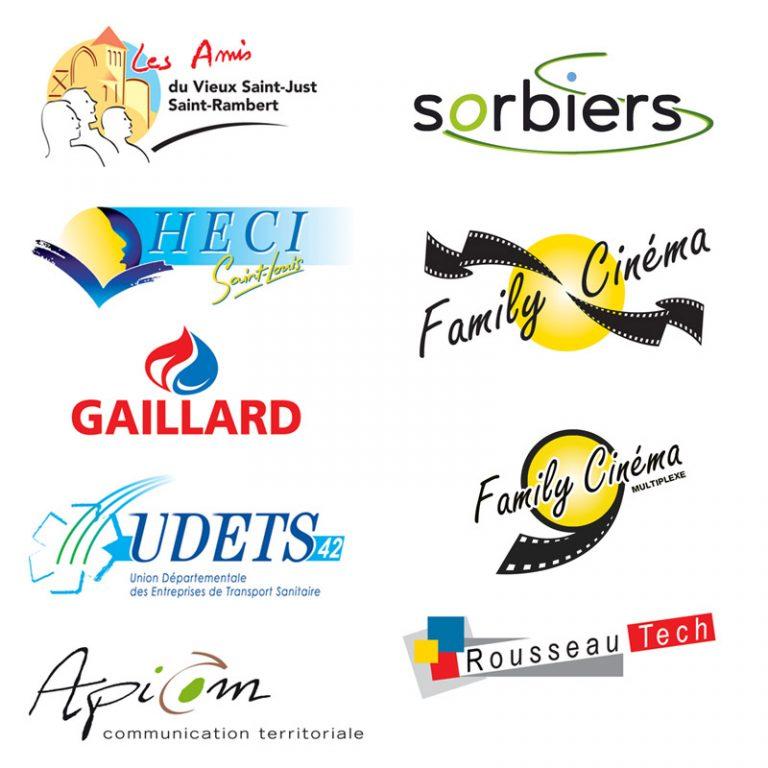 Logos - Franck Perrot Design - Apicom - graphisme