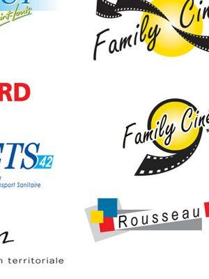 Logos / Franck Perrot Design / Apicom / Graphisme