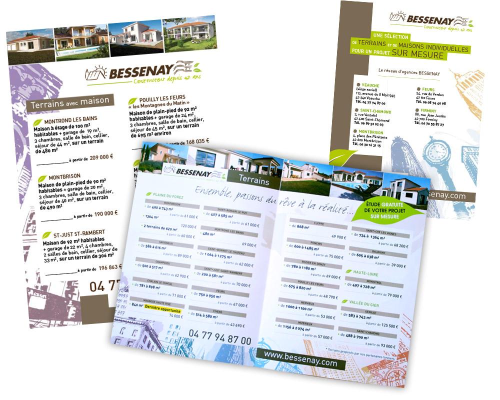 flyer Bessenay - Franck Perrot Design - graphisme