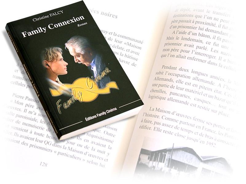 livre Family Connexion - Franck Perrot Design - Apicom - graphisme