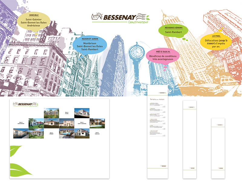 Stand Bessenay - Franck Perrot Design - graphisme