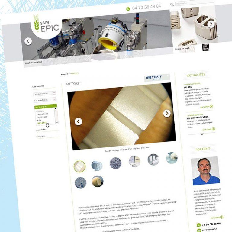 Webdesign site, Franck Perrot Design, Imageurs, graphisme