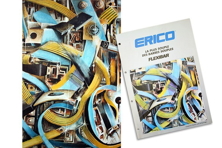 Couverture Flexibar Erico - Franck Perrot Design - Peinture - Graphisme