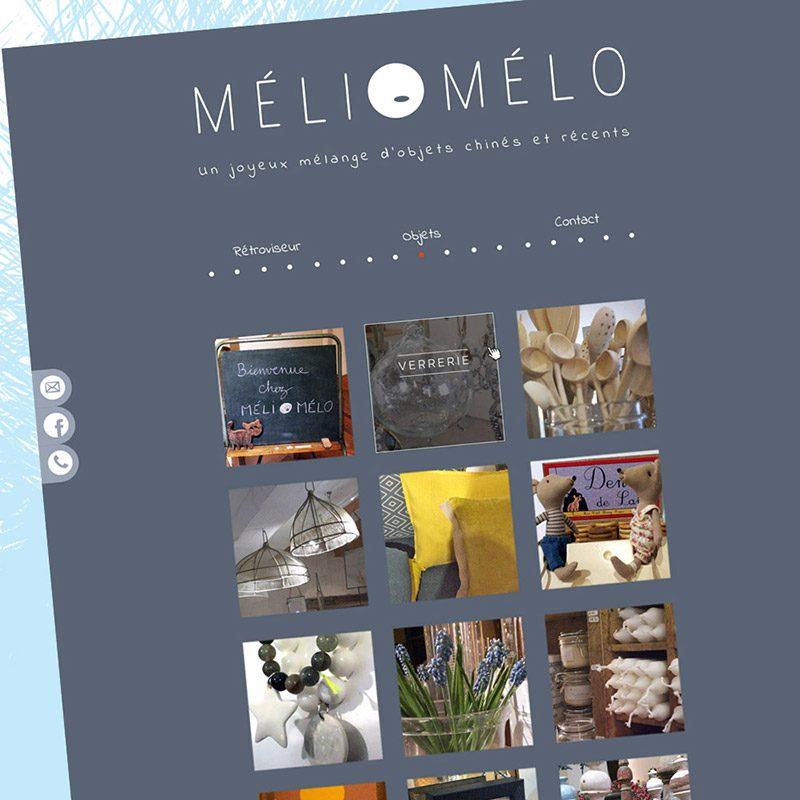 Webdesign site - Franck Perrot Design - Imageurs - accueil Méli Mélo