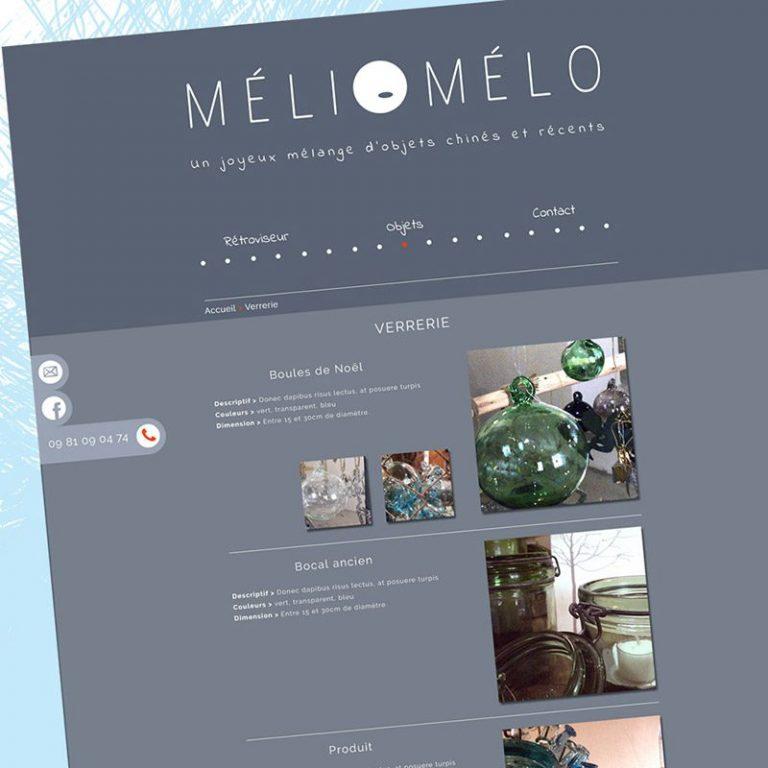 Webdesign - Meli Melo - Franck Perrot Design - Imageurs - Graphisme