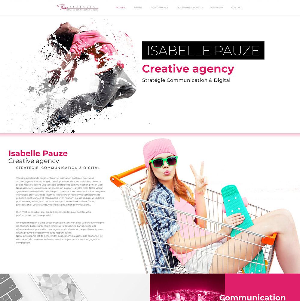 Isabelle Pauze com- page accueil
