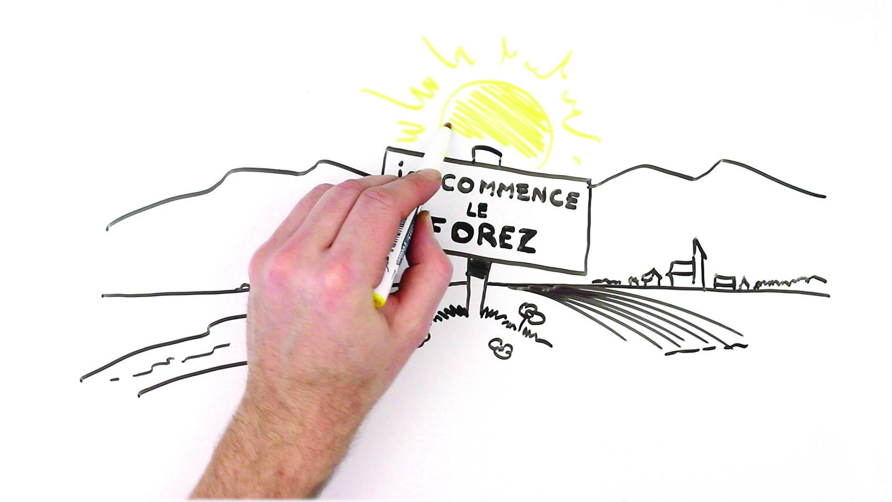 Extrait image -Animation 50 ans Crédit Mutuel Forezien